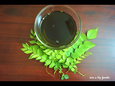 hair oil for hair growth|Curry Leaves Oil to Grow Long Thick Hair fast with Ajwain Seeds&CoconutOil