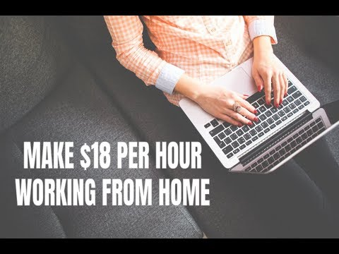 Make $18 per Hour Working from Home with These Jobs (4/28/18)