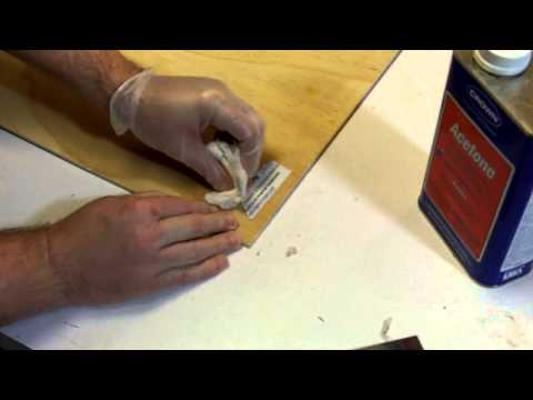 Chief's Shop: How To Remove Stickers From Plywood