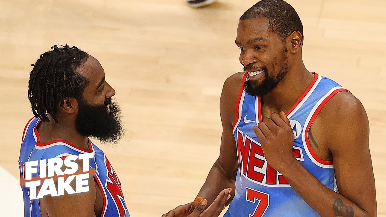 James Harden or Kevin Durant: Who is more important to the Nets' title run? | First Take