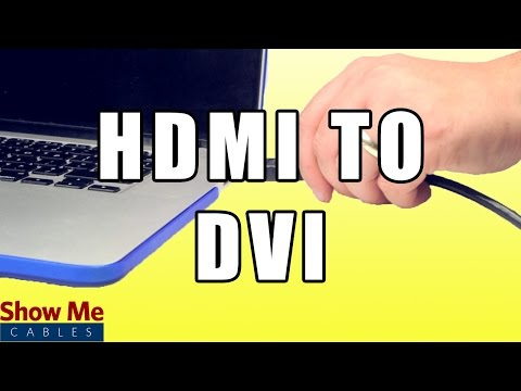 HDMI to DVI  Cable - Quickly Connect From Your Computer to Your TV #40-420-001