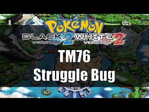 Pokemon Black 2 & White 2 | Where to get TM76 Struggle Bug