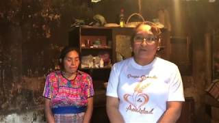 Personas De Escasos Recursos Cajolá/casa De Don Wanerje