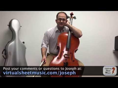 Cello Lesson - How to Play Harmonics on the Cello