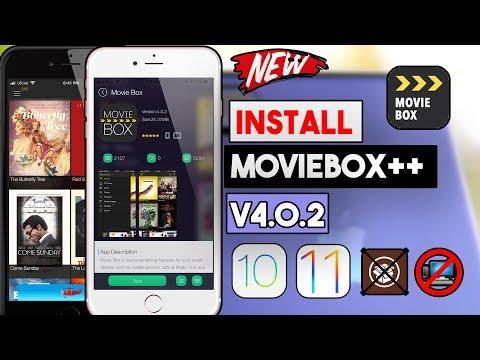 New Download MovieBox++ v4.0.2 Latest Free (NO JAILBREAK/COMP) iOS 10/11/11.3 On iPhone/iPod/iPad
