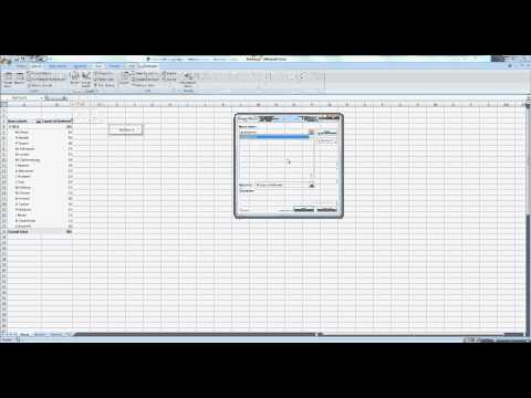 The Power of Combining Excel and Access p4: Specify pivottable with SQL