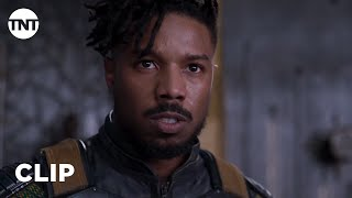 Black Panther: Killmonger Challenges T'Challa to Ritual Combat [CLIP]   TNT