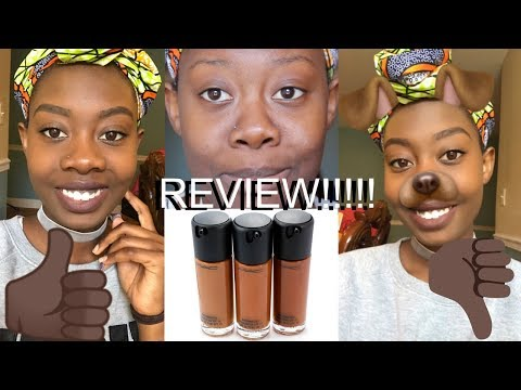 Foundation Hunt #2|Mac Foundation Review| Mac Master Foundation In The Shade 8.0