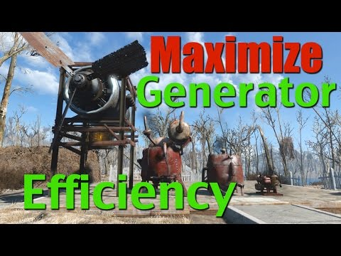 Fallout 4 Tips & Tricks: Get the Most from Your Generators