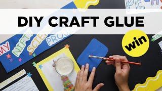 2-Ingredient Craft Glue