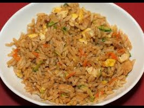 Chicken Fried Rice Video - How To Cook Chicken Fried Rice