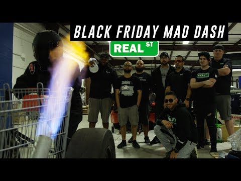 Black Friday Mad Dash Challenge - Real Street Performance