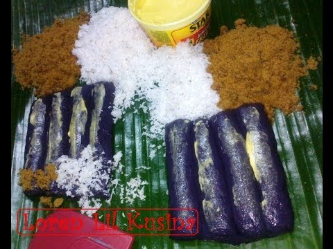 Puto Bumbong Without Bamboo Steamer