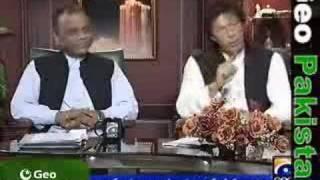 Capital Talk with Imran Khan on 22 June 2007 Part 2/3