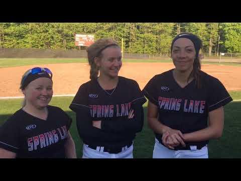 Spring Lake senior softball trio reflects on program's wild success