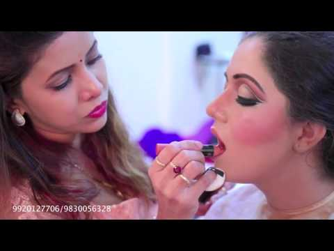avd makeup video three wings eye makeup ........makeover Start hair style diploma full course 18th