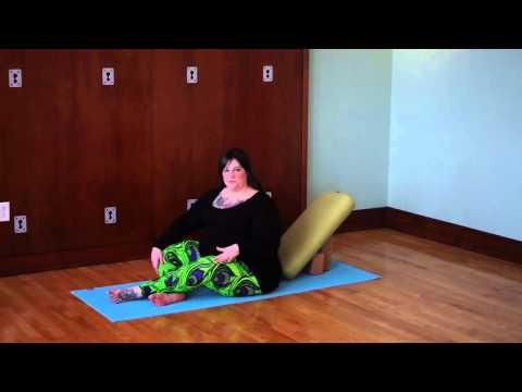Yoga for back and hip pain during pregnancy  Part 1