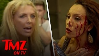 CRAZY Reality TV Fight: Rich, Famous & Bleeding! | TMZ TV