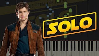 Solo: A Star Wars Story Official Trailer Music | Piano Tutorial & Sheets