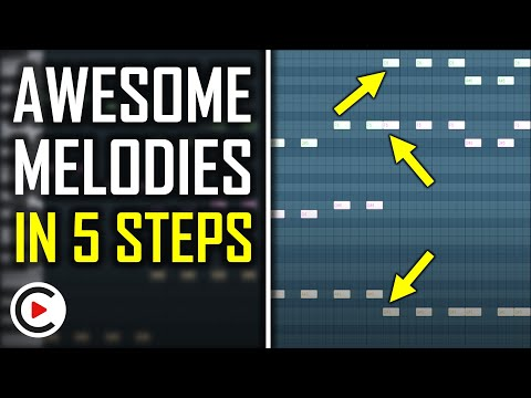 MELODY TUTORIAL   How to Make a Melody in FL Studio (EDM)   Tips for Beginners