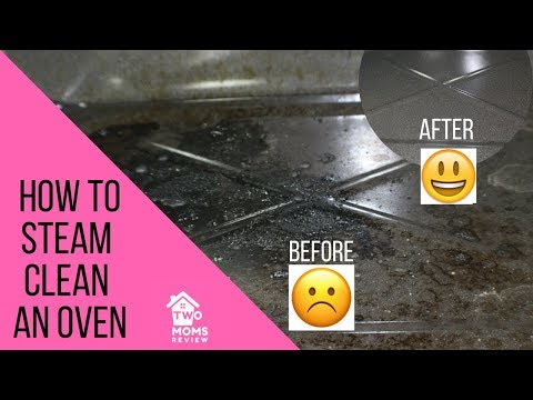 How to Steam Clean an Oven - No Chemicals Needed!!