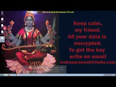 Saraswati Ransomware Removal