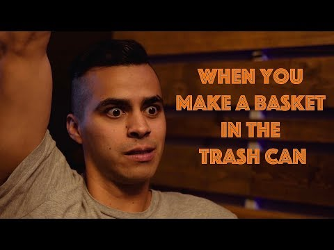 When You Make a Basket in the Trash Can | David Lopez