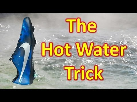 The Hot Water Trick - Breaking in Your Soccer Cleats/Football Boots Faster