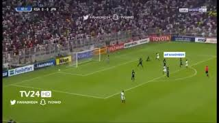 هدف تأهل السعوديه لمونديل روسيا 2018 كاس العالم