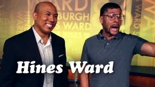 STEELERS HINES WARD AND PITTSBURGH DAD