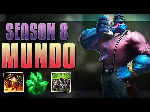 TANK FOR DAYS!! - DR. MUNDO CHAMPION GUIDE - LEAGUE OF LEGENDS + GIVEAWAY!!!