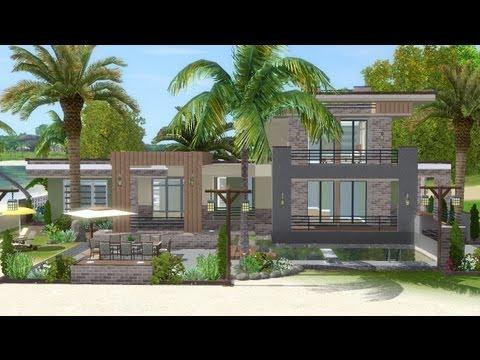 The Sims 3 - House Building - Lagoon Beach (W/ SimLinks)