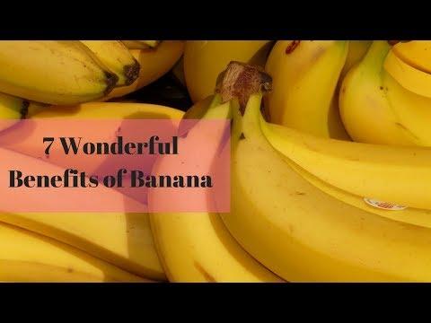 7 Wonderful Benefits of Banana||Food bank