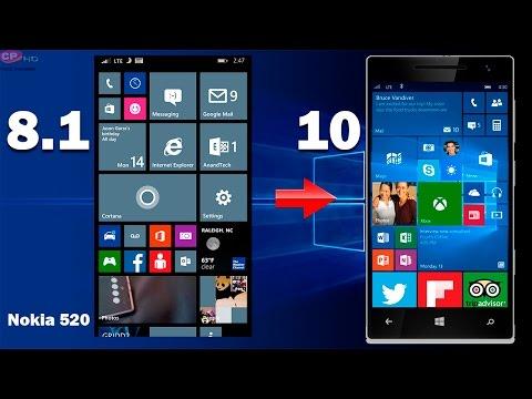 Como actualizar nokia lumia 520 a windows 10 mobile (Oficial)  //Parte1