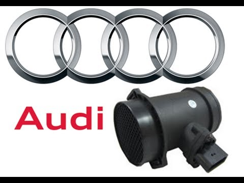 how to guide audi a4 maf sensor cleaning