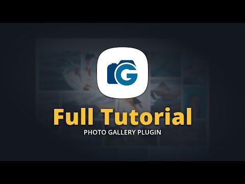 WordPress Photo Gallery Plugin Full Tutorial