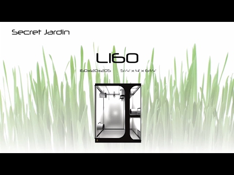 How to set up Secret Jardin grow tent L160 | Products Tutorial