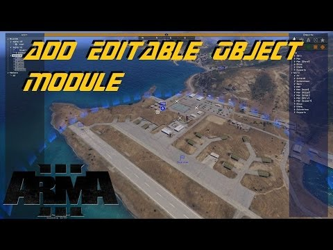 ARMA 3 Zeus - Add Editable Object Module