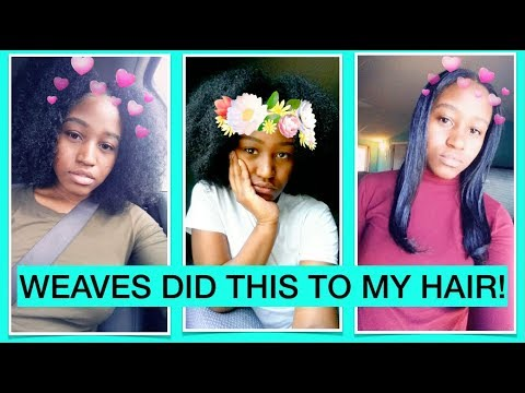 PROOF SEW IN WEAVES CAN GROW YOUR  NATURAL HAIR!!!