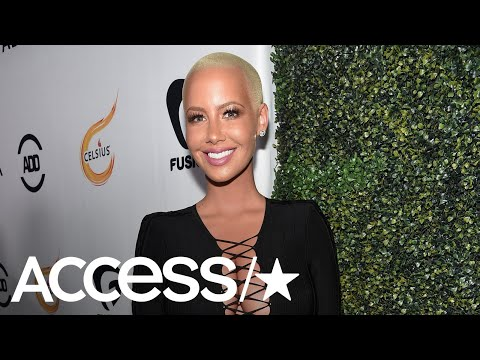 Amber Rose Reveals She Is Getting Breast Reduction Surgery | Access