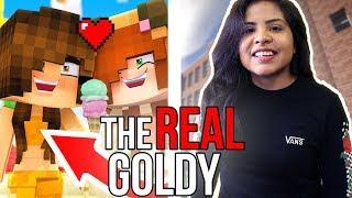Download THE REAL GOLDY!! 😱 // Goldy from Minecraft Daycare Video