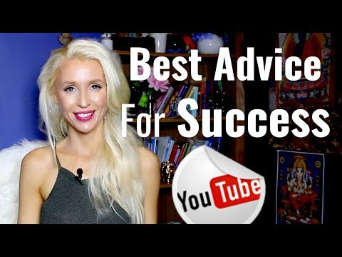 My BEST Advice For SUCCESS/YouTube/LIFE