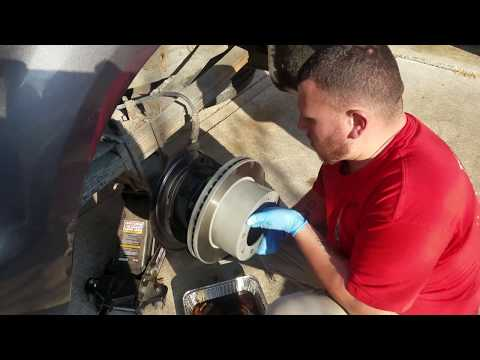 2006 Ford F250 rear hub axle seal replacement