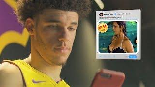 NEW The Best Lonzo Ball Commercials Footlocker, Twitter, NBA (FUNNY)