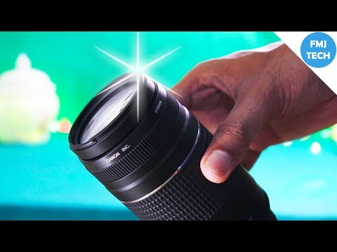 Clean DSLR Lenses Perfectly Like This!! 😉