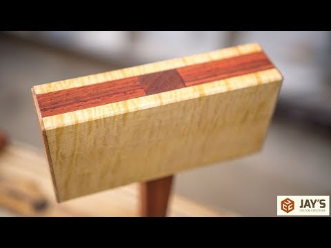 Curly Maple and Padauk Dead Blow Mallets - Want one?