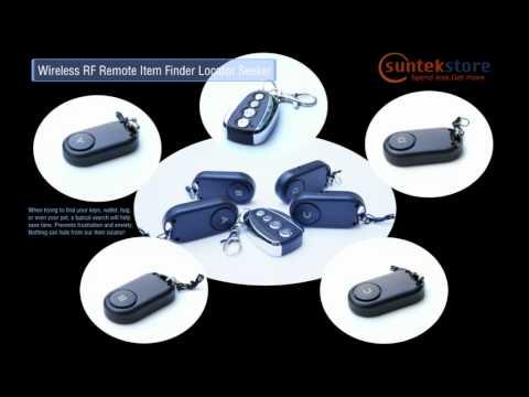 SuntekStore.com $29.55 Free Ship Wireless RF Remote Item Finder Locator Seeker