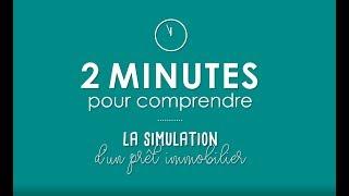 2 minutes pour comprendre la simulation d'un prêt immobilier