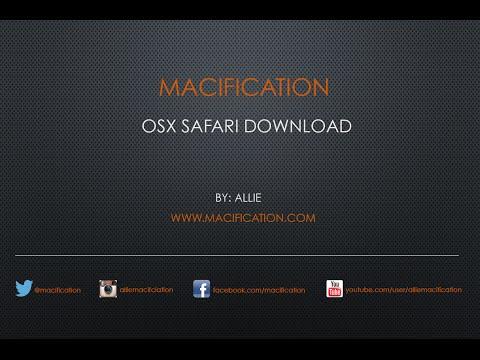 OSX Safari Download Location
