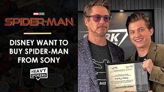 Download Disney Marvel Considering Buying Spider-Man From Sony In New DEAL UPDATE Video